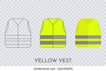 Yellow vest icon