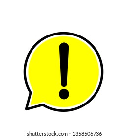 Yellow warning dangerous attention sign, danger symbol, filled flat icon, solid pictogram.