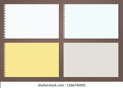 Yellow Notebook Paper Images Stock Photos Vectors Shutterstock