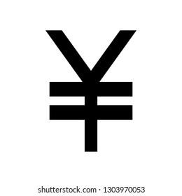 Yen icon vector