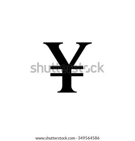 Yen Sign Icon Jpy Currency Symbol Stock Vector Royalty Free