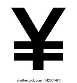 Yen sign . Money symbol . Vector illustration