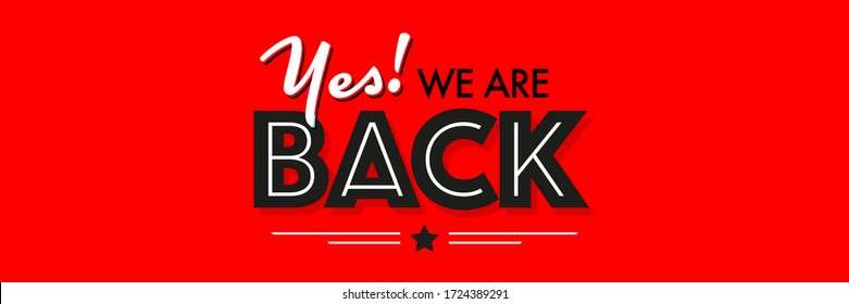 Yes we are back on red background