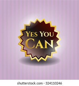 Yes You Can gold badge