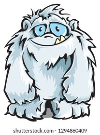 Yeti cartoon character