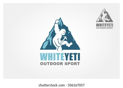 Yeti, Vector logo template
