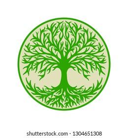 Yggdrasil, celtic symbol, tree of life,