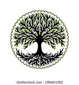 Yggdrasil, tree of life, celtic symbol
