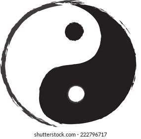 yin yang clip art images stock photos vectors shutterstock rh shutterstock com Yin Yang Clip Art Microsoft Animal Yin Yang Clip Art
