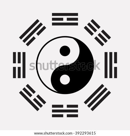 Ying Yang Symbol Harmony Balance Ancient Stockvector Rechtenvrij