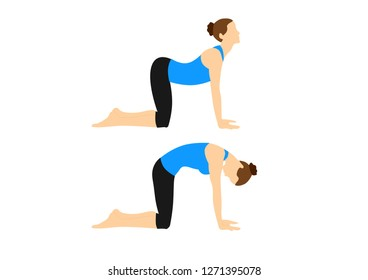 Yoga fitness position workout motivation