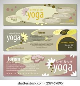 Yoga Flyer Template - Vector Illustration, Graphic Design, Editable For Your Design