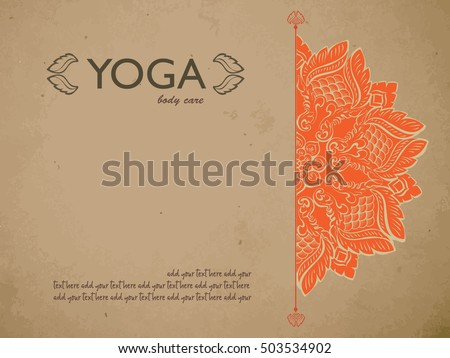 yoga gift certificate template free