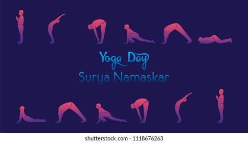 ashtanga yoga stock vectors images  vector art