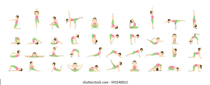 Kids Yoga Drawing Images Stock Photos Vectors Shutterstock