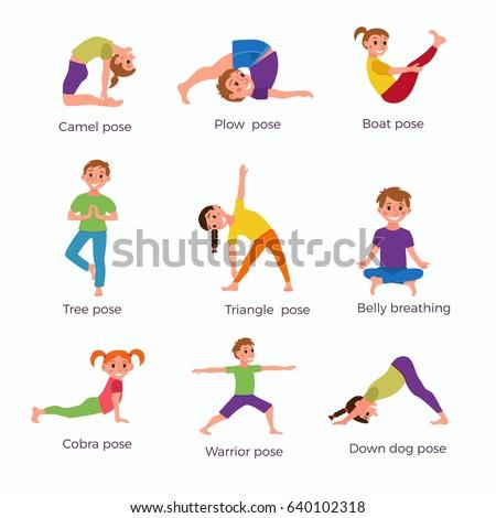 Kids Fun Workout In Gym Print Out