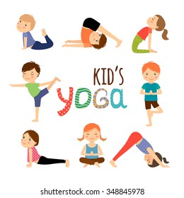 Yoga Kid Images Stock Photos Vectors Shutterstock