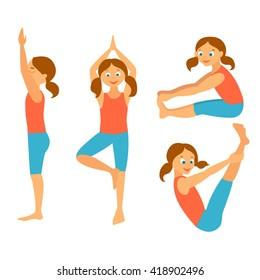 similar images stock photos  vectors of yoga asana