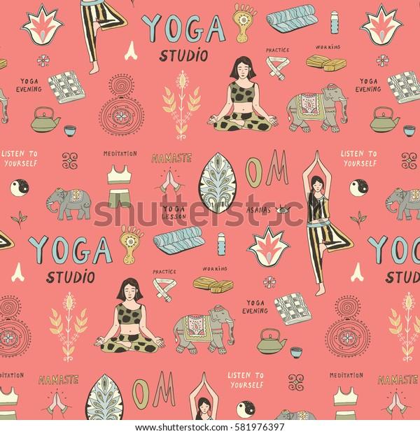 yoga lesson pattern