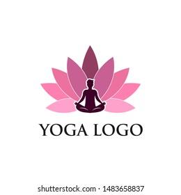 Yoga Logo Images Stock Vectors