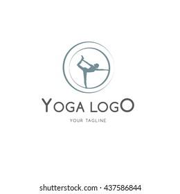 Yoga logo template