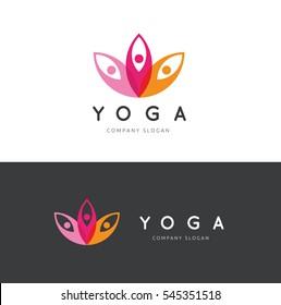 Yoga Logo Template.