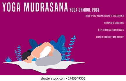 Yoga Mudrasana Images Stock Photos Vectors Shutterstock