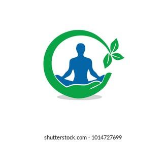 yoga natural logo