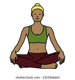 Yoga Pose: Sukhasana / easy pose