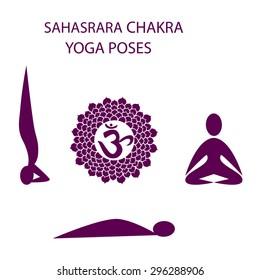 Yoga poses fro Sahasrara chakra activation