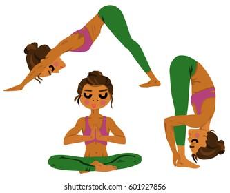 Yoga Watercolor Print Yoga Print Yoga Gift Yoga Sukhasana Pose Meditation