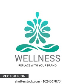 Yoga , Spa or wellness Logo/Icon