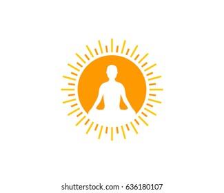 meditation logo images stock photos vectors shutterstock