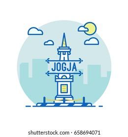Yogyakarta land mark