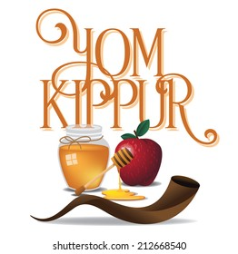 Yom Kippur design EPS 10 vector