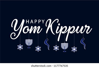Yom kippur greeting card background vector stock vector royalty yom kippur greeting card or background vector illustration m4hsunfo