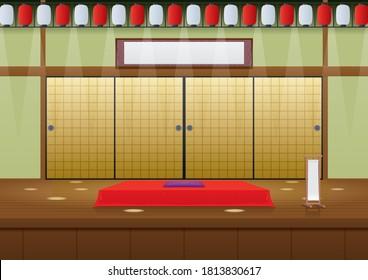 """Yose"", the stage of traditional Japanese performance ""Rakugo"""