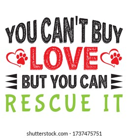You Can buy love dog t shirt design