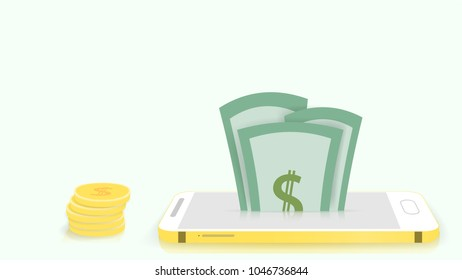 You can make money from online media via telephone or computer with an Internet connection.