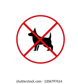 you can not enter the dog