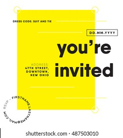 you re invited images stock photos vectors shutterstock