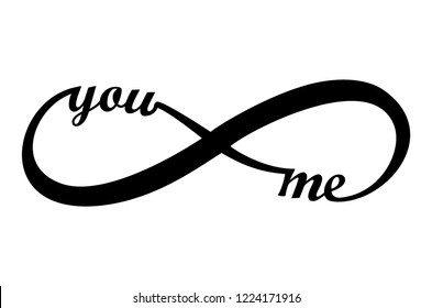 You and Me Infinity vector