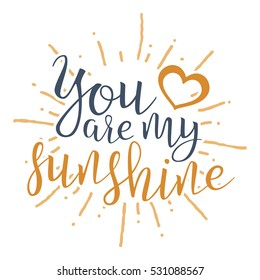graphic about You Are My Sunshine Printable identified as Oneself are My Sunlight Pictures, Inventory Illustrations or photos Vectors