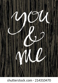You&me design card