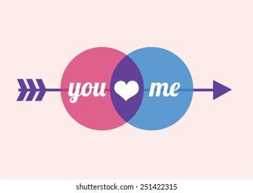 You&Me (vector)