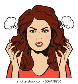 Angry Girl Images, Stock Photos & Vectors | Shutterstock