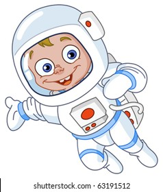 Young astronaut