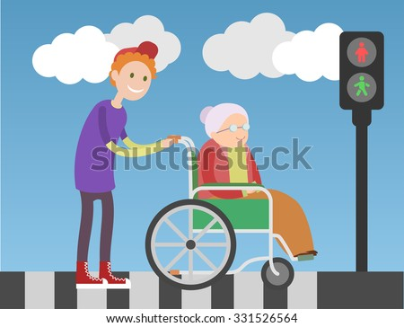 an old woman of the roads