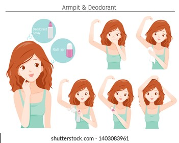 Young cares armpit with deodorant, Nourishing, Beauty, Fashion