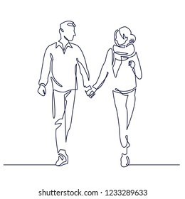 Boyfriend Girlfriend Drawing Images Stock Photos Vectors